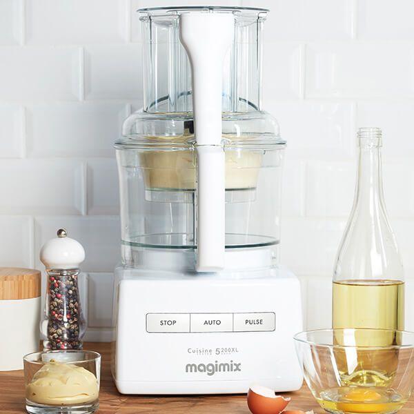 magimix cuisine systeme 5200xl premium white blendermix food processor