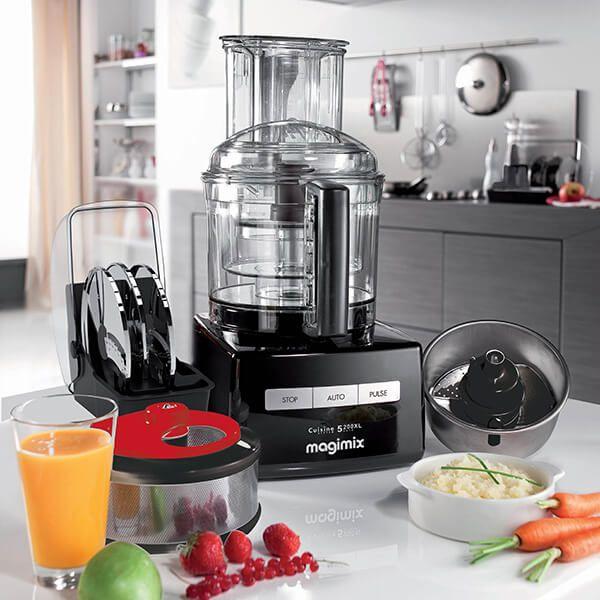 magimix cuisine systeme 5200xl premium black blendermix food processor