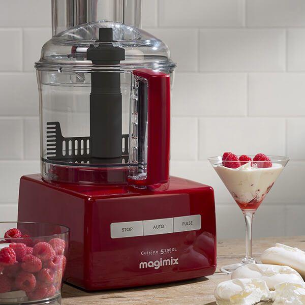 Magimix 5200XL Premium Red BlenderMix Food ProcessorGift