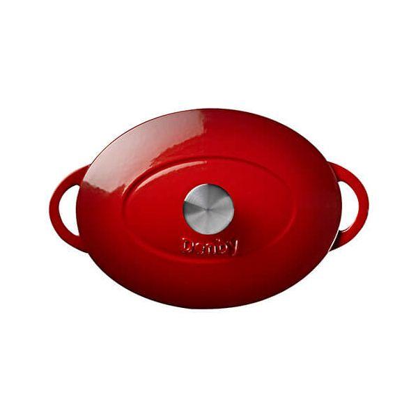 Denby Cast Iron Pomegranate 28cm Oval Casserole