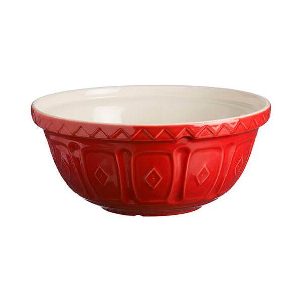 Mason Cash Colour Mix S12 Red Mixing Bowl 29cm