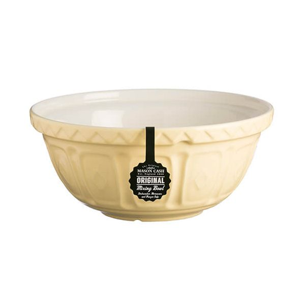 Mason Cash Colour Mix S12 Vanilla Mixing Bowl 29cm