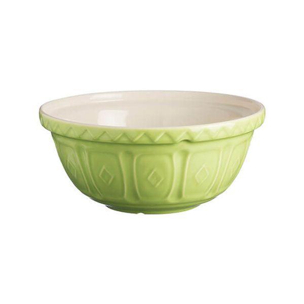 Mason Cash Colour Mix S18 Bright Green Mixing Bowl 26cm