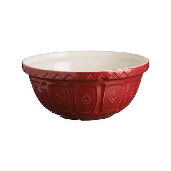 Mason Cash Colour Mix S18 Burgundy Mixing Bowl 26cm