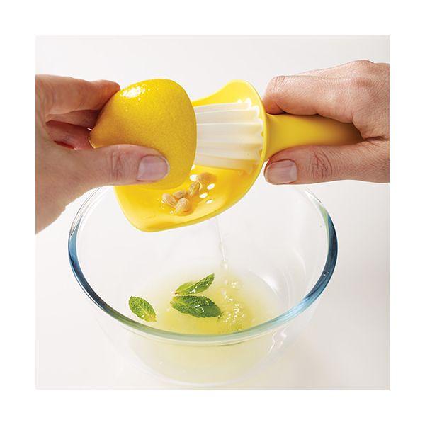 Joseph Joseph Catcher Citrus Reamer Yellow