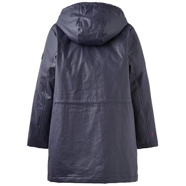 Joules Rainaway Marine Navy Raincoat
