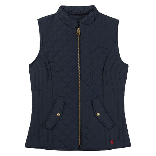 Joules Minx Marine Navy Quilted Gilet