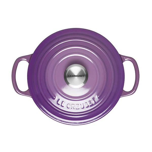 Le Creuset Signature Ultra Violet Cast Iron 18cm Round Casserole