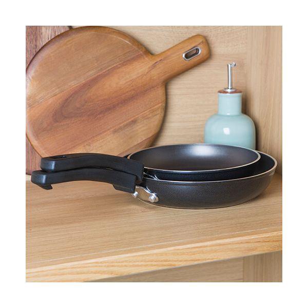 Kitchen Hack Non-Stick Frying Pan Twin Set