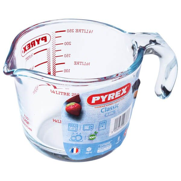 Pyrex Classic 0.25L Measuring Jug
