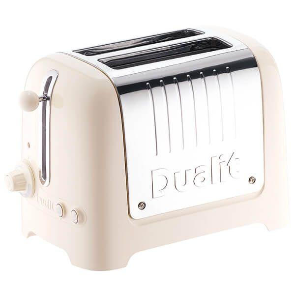 Dualit Lite 2 Slot Toaster Canvas White