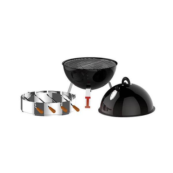 Tramontina Round BBQ Skewer Support & Skewers Set