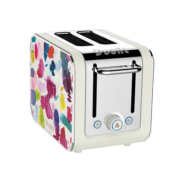 Dualit Architect 2 Slot Canvas Body With Bluebellgray Panel Toaster