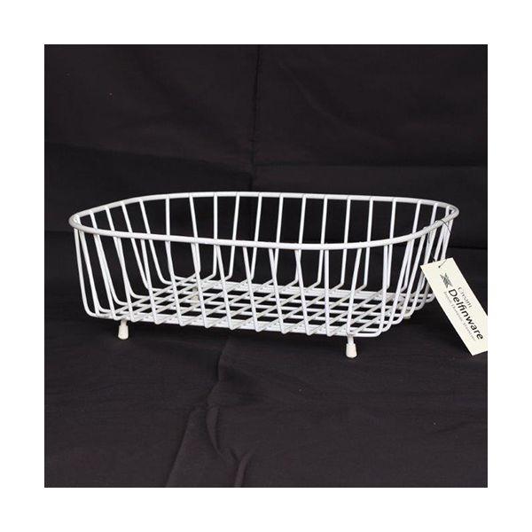 Delfinware Wireware Cream Oval Sink Basket