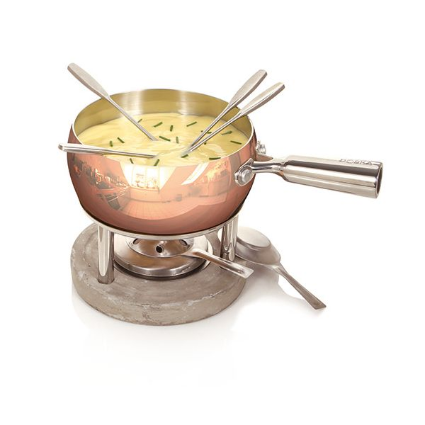 Boska Fondue Set Copper