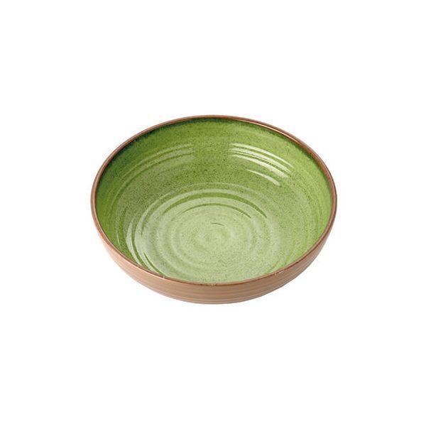 Epicurean Melamine Stoneware Sage 20cm Bowl