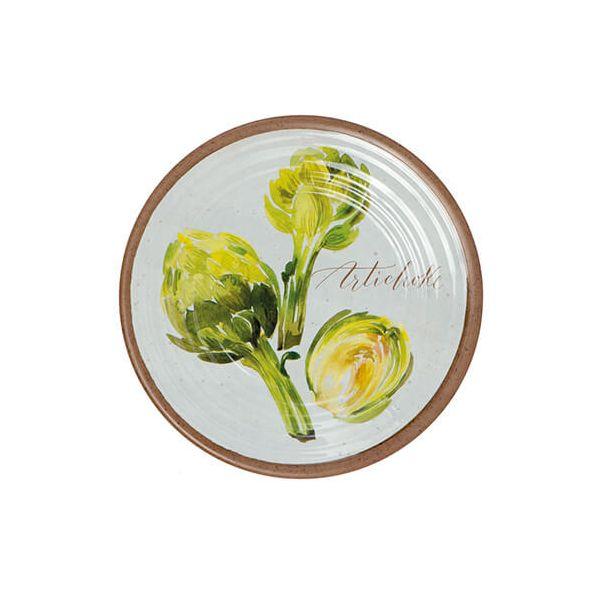 Epicurean Melamine Alfresco Artichoke 22cm Side Plate