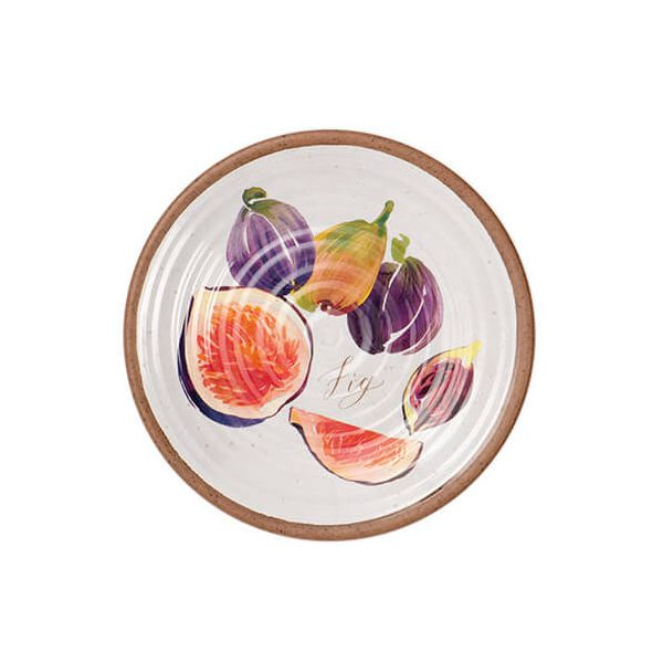 Epicurean Melamine Alfresco Fig 22cm Side Plate