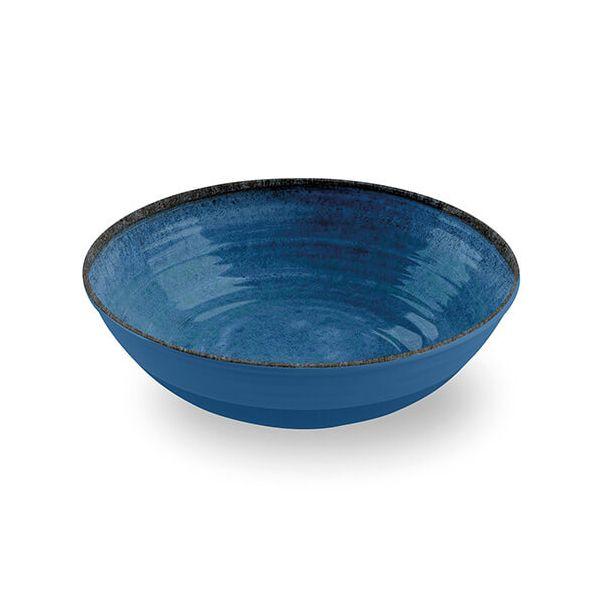 Epicurean Melamine Artisan Indigo Serving Bowl
