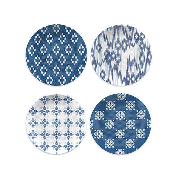 Epicurean Melamine Kyoto Set Of 4 Side Plates