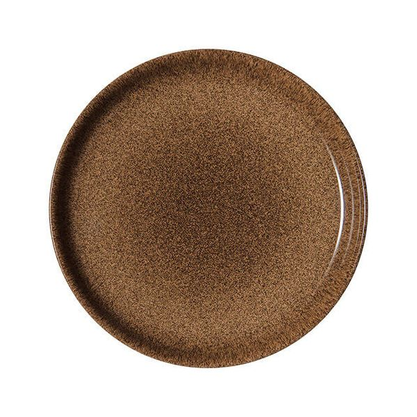 Denby Studio Craft Chestnut Coupe Dinner Plate