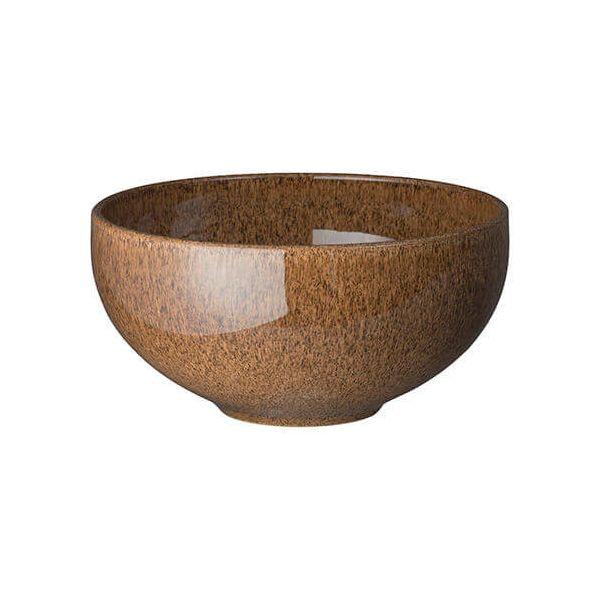 Denby Studio Craft Chestnut Ramen/Large Noodle Bowl