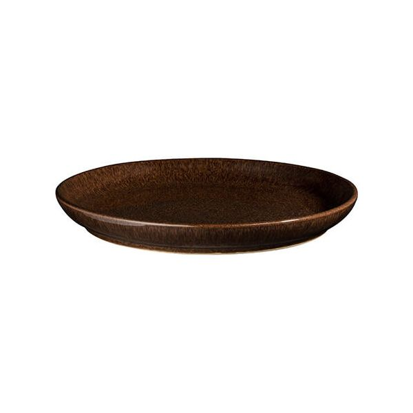 Denby Studio Craft Walnut Medium Coupe Plate