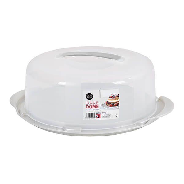 Wham Cook Aluminium & Clear Round Cake/Cheese Dome
