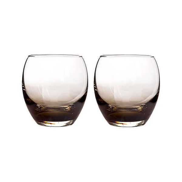 Denby Halo / Praline Small Tumbler Pack Of 2