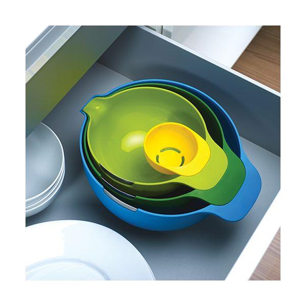 Joseph Joseph Nest Plus Mix Baking Mixing Bowl Set