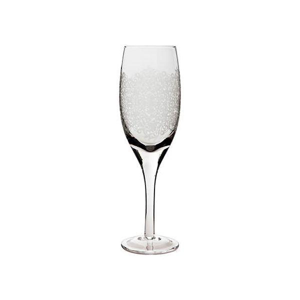 Denby Monsoon Filigree White Wine Glass Pack Of 2
