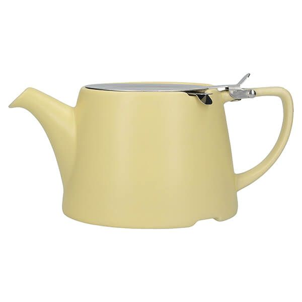 London Pottery Oval Filter 3 Cup Teapot Satin Buttercup