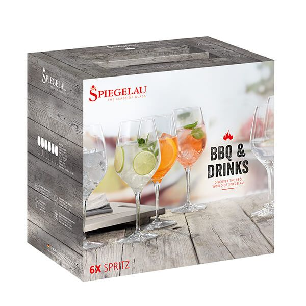Spiegelau Weber BBQ & Drinks Spritz 6 Piece Set