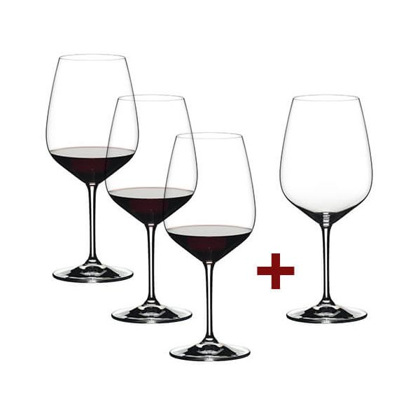 Riedel Extreme Cabernet 4 for 3 Glasses