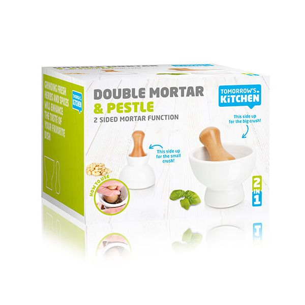 Tomorrow's Kitchen Double Pestle & Mortar