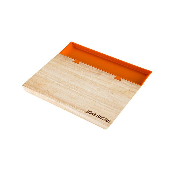 Joe Wicks Small Orange Chopping Board with Food Tray