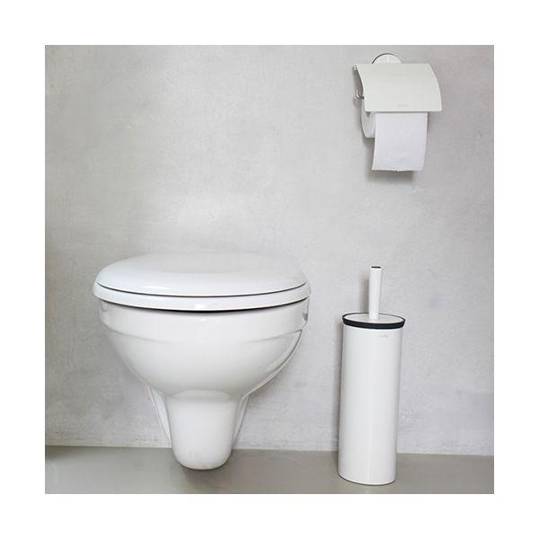 Brabantia Toilet Brush.Brabantia White Toilet Brush And Holder