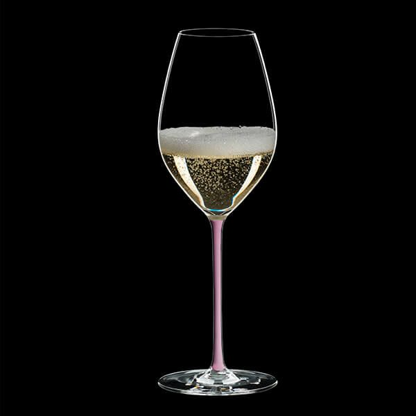 Riedel Hand Made Fatto A Mano Champagne Wine Glass Pink