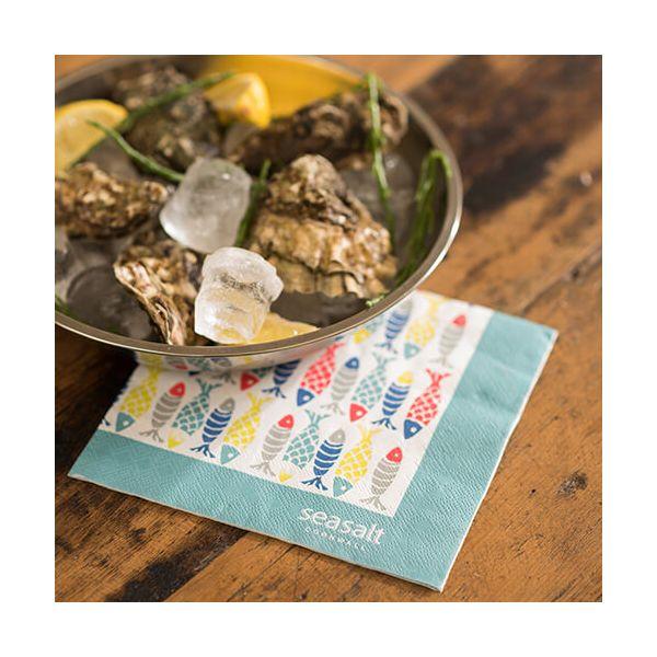 Seasalt Schooling Fish Paper Napkins Pack of 20
