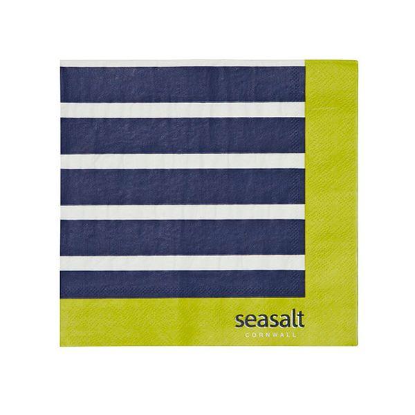Seasalt Sailor Stripe Paper Napkins Pack of 20