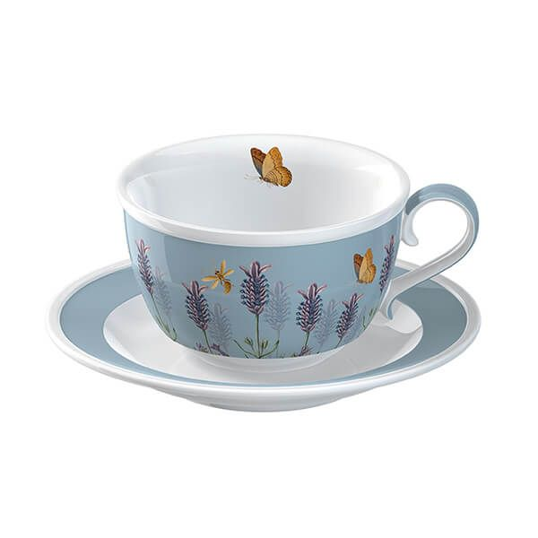 Royal Botanic Gardens Kew Lavender Cup and Saucer