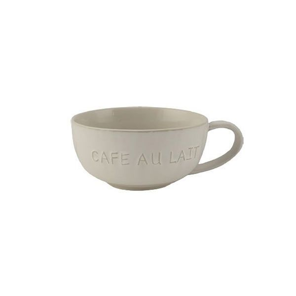 La Cafetiere Origins Embossed Cafe Au Lait Mug