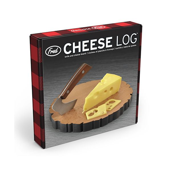 Fred Cheese Log Serving Board