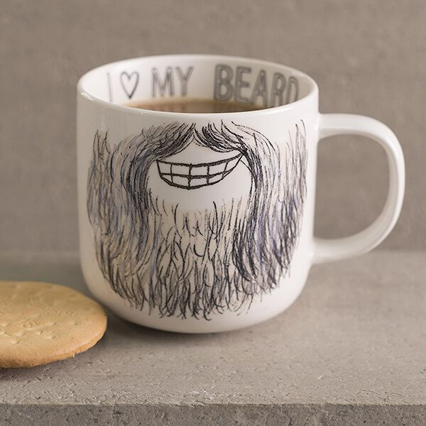 Creative Tops Core Beard Mug