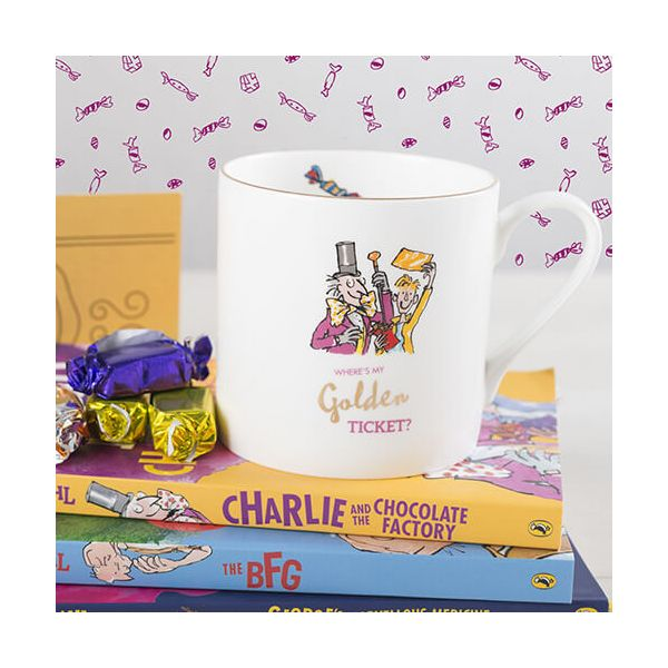 Roald Dahl Charlie & The Chocolate Factory Can Mug