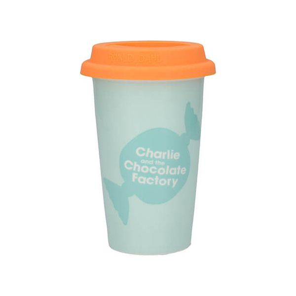 Roald Dahl Charlie & The Chocolate Factory Travel Mug