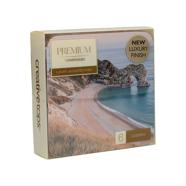 Creative Tops Durdle Door Pack Of 6 Premium Coasters