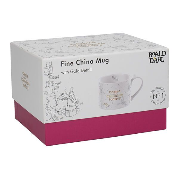 Roald Dahl Charlie And The Chocolate Factory Phizz-Whizzing Mug