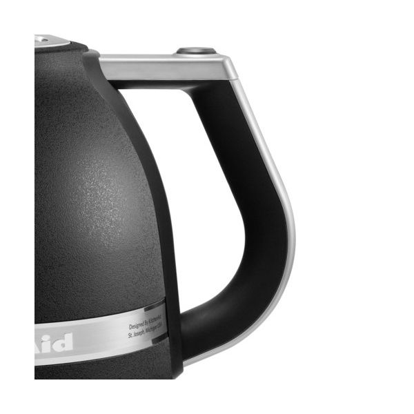KitchenAid Artisan Cast Iron Black 1.5L Kettle