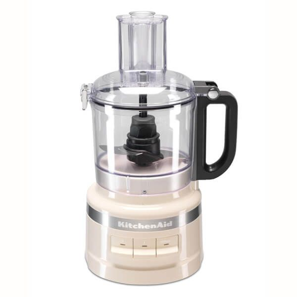 KitchenAid 1.7L Almond Cream Food Processor with FREE Gift